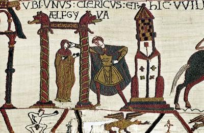 Bayeux Tapestry - Ælgifu